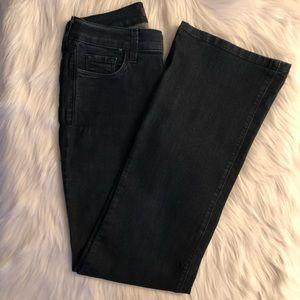 NYDJ Tummy Tuck Deep Blue Bootcut Jeans SZ 4